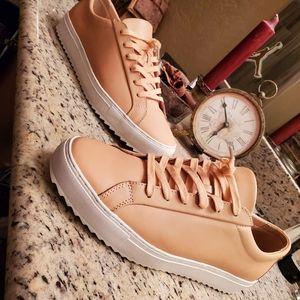 """TCG Kennedy Lug Low Leather """"Peach/Cream"""""""